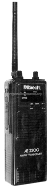 AM/FM Transceiver AE 2200; Albrecht Marke, (ID = 1838233) Citizen