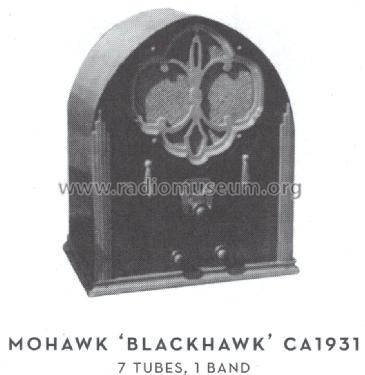 Blackhawk ; All American Mohawk, (ID = 1577897) Radio