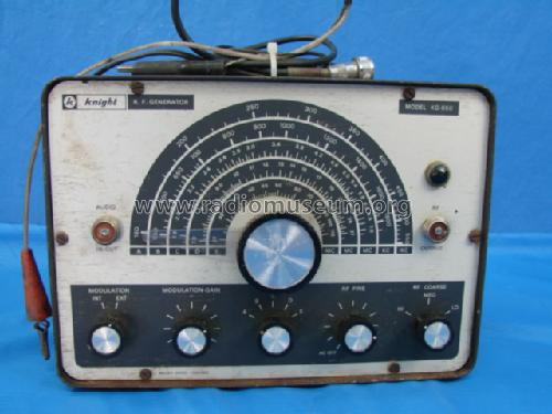 Knight RF Signal Generator KG-650; Allied Radio Corp. (ID = 965979) Equipment