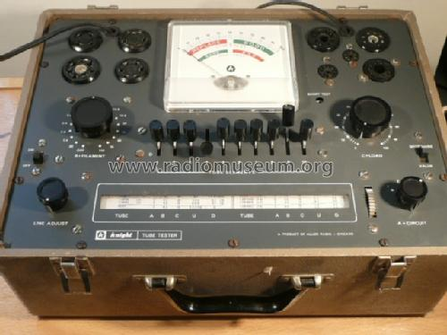 Knight Tube Tester 600A; Allied Radio Corp. (ID = 471084) Equipment