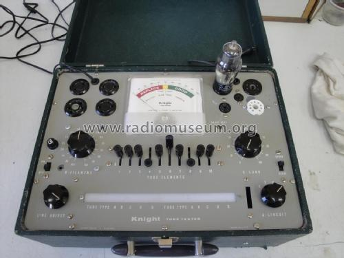 Knight Tube Tester KG-600; Allied Radio Corp. (ID = 1804699) Equipment