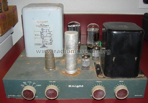 Knight unknown Mono Amplifier; Allied Radio Corp. (ID = 1464662) Ampl/Mixer