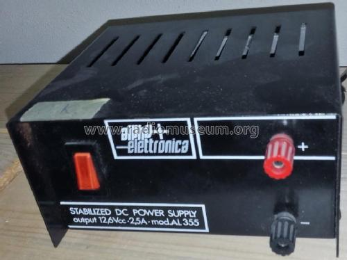 Stabilized DC Power Supply Al-355; Alpha Elettronica; (ID = 2013054) A-courant