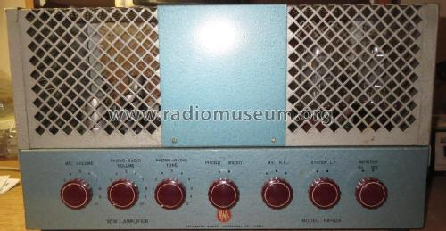 AWA 30 Watt Amplifier PA PA826; Amalgamated Wireless (ID = 2393771) Ampl/Mixer