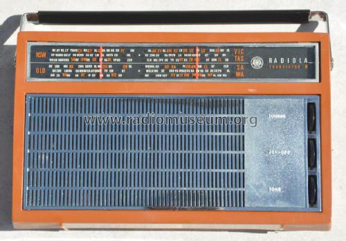 Radiola Transistor Carnaby 8 B58 Radio Amalgamated Wireless