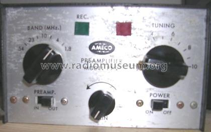 Ameco Preamplifier PT-2; American Electronics (ID = 905554) RF-Ampl.