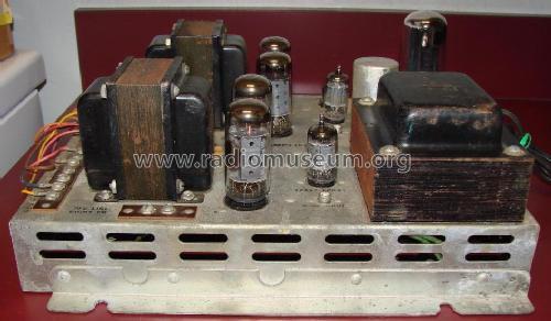 stereo amplifier ra ampl/mixer ami entertainment,, schematic