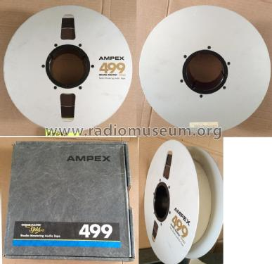 Magnetic Recording Tape 2 inch size; Ampex; San Carlos, (ID = 1811267) Diversos