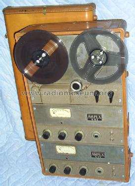 Stereophonic Portable 601-2 ; Ampex; San Carlos, (ID = 497689) R-Player