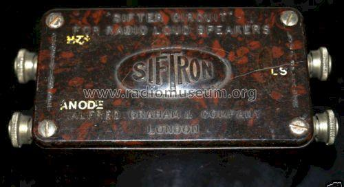 Siftron ; Amplion, Alfred (ID = 1573787) Bauteil