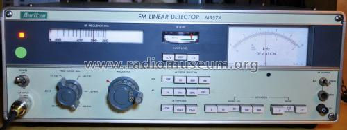 FM Linear Detector MS 57A; Anritsu Corporation; (ID = 2040989) Equipment