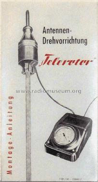 """Antennen Drehvorrichtung """"Telerotor"""" aus der DDR Bad Blankenburg"""