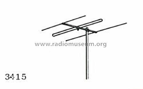 ukw antenne 3415 antenna antennenwerke bad blankenburg th r. Black Bedroom Furniture Sets. Home Design Ideas