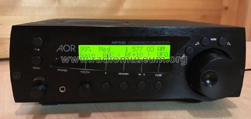 Communications Receiver AR7030; AOR Manufacturing (ID = 2065782) Receiver-C