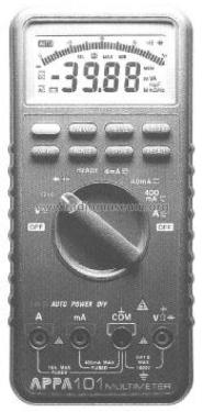 Digital Multimeter 101; APPA Technology (ID = 2445741) Equipment