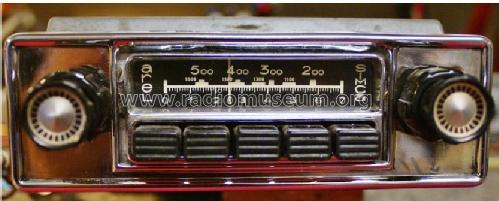 Simca Super Luxe Automatique ; Arel, Applications (ID = 1464997) Car Radio