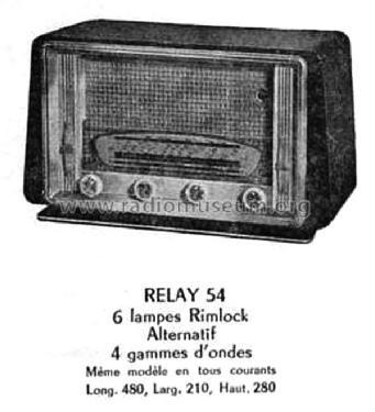 Relay 54 tous courants radio areso voir aussi ast rion sain - Mondial relay saint ouen ...