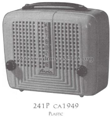 241P Ch= RE-254; Arvin, brand of (ID = 1487570) Radio