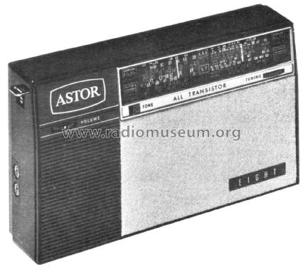 Eight PB025; Astor brand, Radio (ID = 2359296) Radio