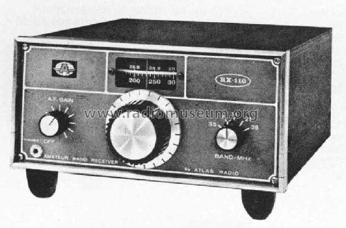 RX-110; Atlas Radio Co.; (ID = 236588) Amateur-R