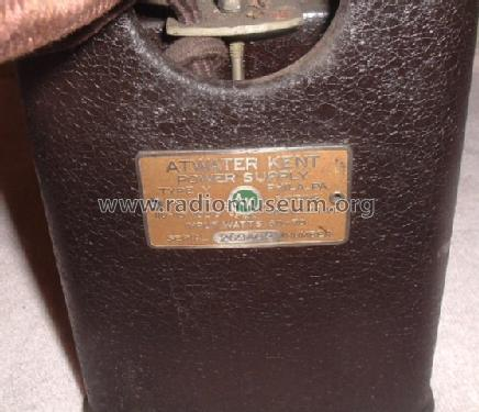 Power Supply Type Y; Atwater Kent Mfg. Co (ID = 1383774) Power-S