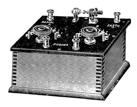 Crystal Receiver G.P.O. Type No. 321; Aucklands Wireless, (ID = 1535950) Crystal