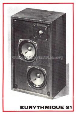 3-Way Speaker System Eurythmique 21 Speaker-P Audax