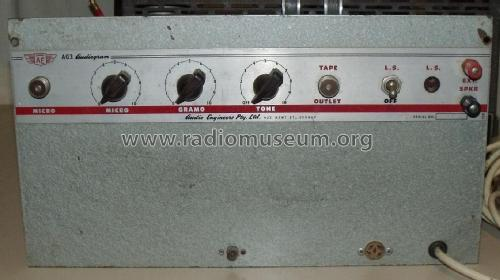 Audiogram Amplifier AG3; Audio Engineers Pty. (ID = 2389102) Ampl/Mixer