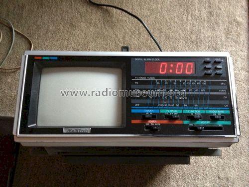 Verrassend MultiTech TV / Radio / Timer KRB-1545 TV Radio Audio Sonic VP-53