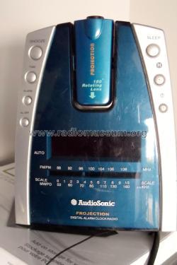projection digitalalarm clock radio cl 447 radio audio sonic. Black Bedroom Furniture Sets. Home Design Ideas