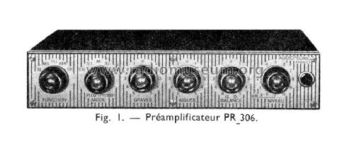 Préamplificateur PR306; Audiotecnic; Paris (ID = 1335696) Ampl/Mixer