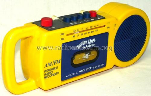 Junior Line AM/FM Portable Radio Recorder ; AudioTon Grünwald (ID = 1651649) Radio