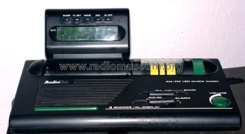 AM/FM LED Clock Radio ECR-978; AudioTon Grünwald (ID = 1790434) Radio