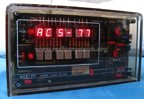 Atomic Clock System ACS-77; Auerswald; (ID = 1654098) Misc