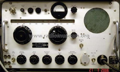 VHF-Empfänger E-77; Autophon AG inkl. (ID = 235932) Commercial Re