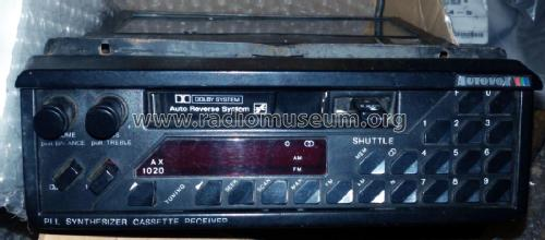 Shuttle AX1020; Autovox SPA; Roma (ID = 2324877) Car Radio