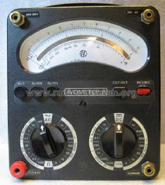 AvoMeter 8 Mk.v ; AVO Ltd.; London (ID = 384664) Equipment