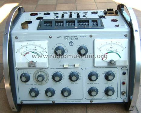 VCM 163, Valve Characteristic Meter Equipment AVO Ltd