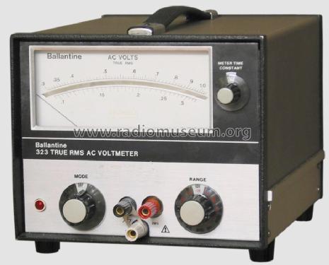 True Rms Voltmeter Wideband True Rms ac Voltmeter
