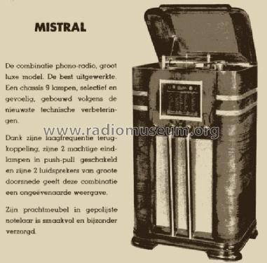 Mistral ; Barco, Belgian (ID = 1126327) Radio