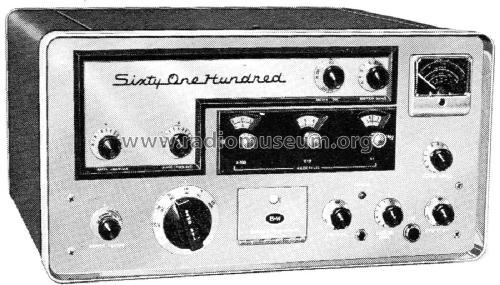 Transmitter 6100 Amateur-T Barker & Williamson Inc , Bristol