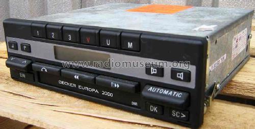 europa 2000 be 1100 car radio becker max egon autoradiower. Black Bedroom Furniture Sets. Home Design Ideas