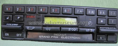 grand prix electronic 612 car radio becker max egon. Black Bedroom Furniture Sets. Home Design Ideas