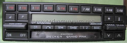 grand prix electronic am fm stereo car radio becker max e. Black Bedroom Furniture Sets. Home Design Ideas