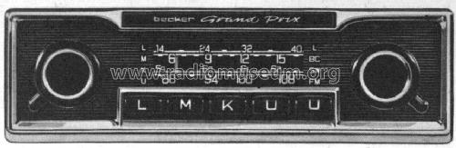 grand prix lmku ab c001968 car radio becker max egon. Black Bedroom Furniture Sets. Home Design Ideas