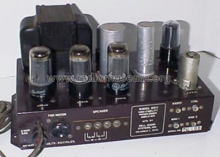 Hi-Fi Phono-Radio Amplifier 2122 Ampl/Mixer Bell Sound Syste