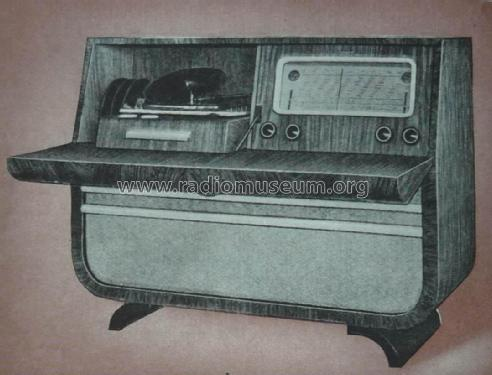 Studio de Luxe ; Bell Telephone Mfg. (ID = 2324944) Radio