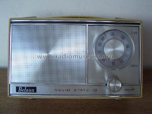 Solid State 10 AC/DC ; Belson brand, (ID = 344857) Radio