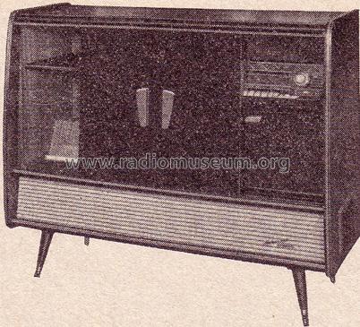Retro Blaupunkt Arkansas Stereo Console with Bar s www