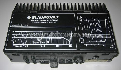 Booster BQB 80 ; Blaupunkt Ideal, (ID = 1035611) Ampl/Mixer